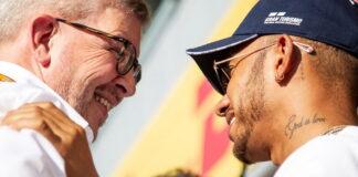 Ross Brawn, Lewis Hamilton