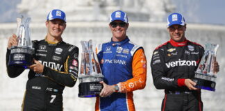 Marcus Ericsson, Scott Dixon, Will Power