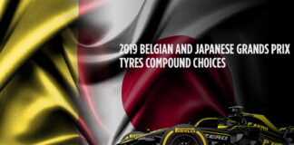Belgian Grand Prix, Japanese Grand PrixTyre compound choices