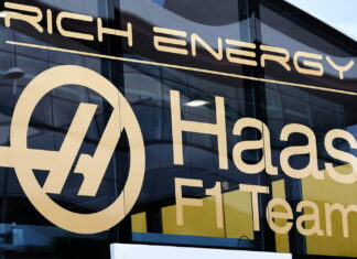 Haas F1 Team logo with Rich Energy branding