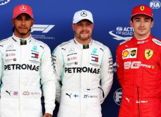 Lewis Hamilton, Valtteri Bottas, Charles Leclerc