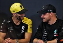 Daniel Ricciardo, Valtteri Bottas
