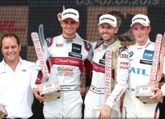 Nico Müller, René Rast, Joel Eriksson