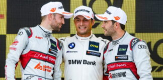 Jamie Green, Bruno Spengler, Mike Rockenfeller