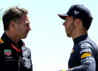 Christian Horner, Pierre Gasly