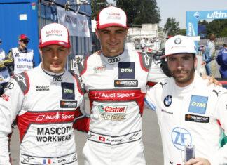 Loïc Duval, Nico Müller, Philipp Eng