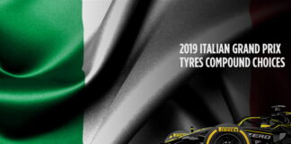 Italian Grand Prix, Tyre compound choices