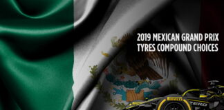 Mexican Grand Prix, Tyre compound choices
