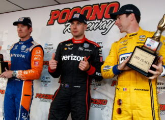 Scott Dixon, Will Power, Simon Pagenaud