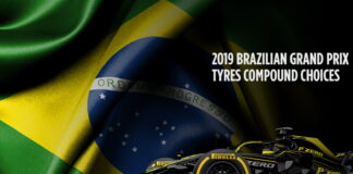 Brazilian Grand Prix, Tyre compound choices