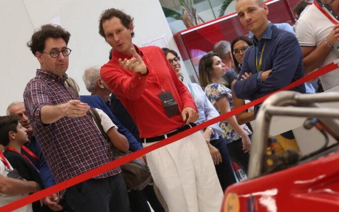 Ferrari Family Day, Mattia Binotto, John Elkann