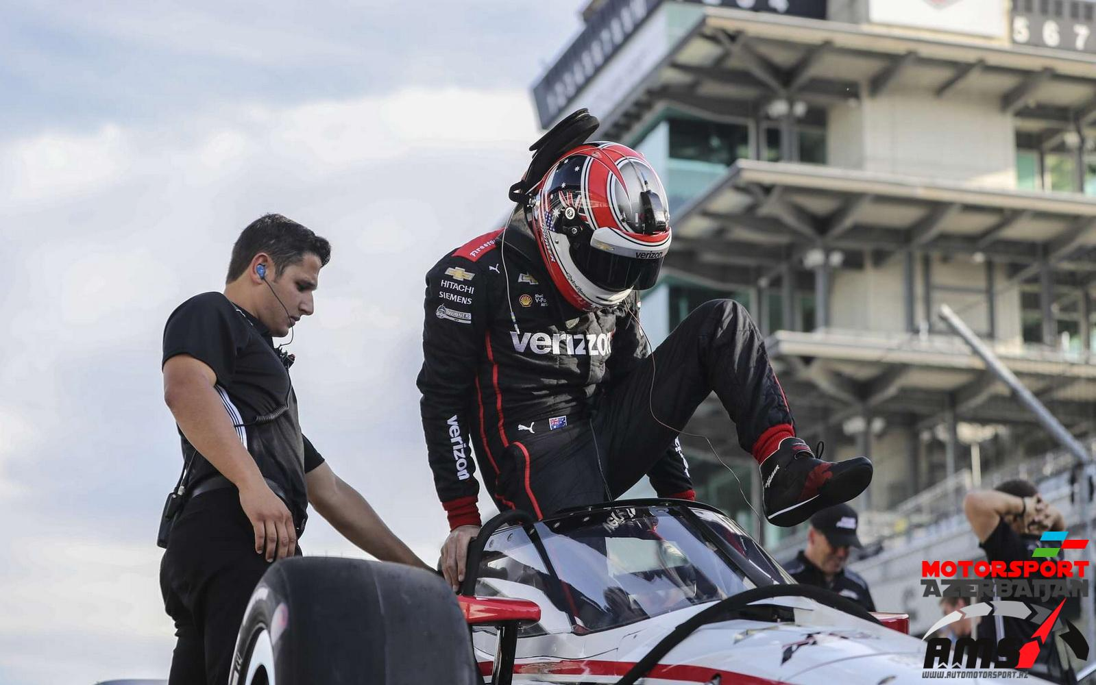 Will Power, Penske, IndyCar Aeroscreen test