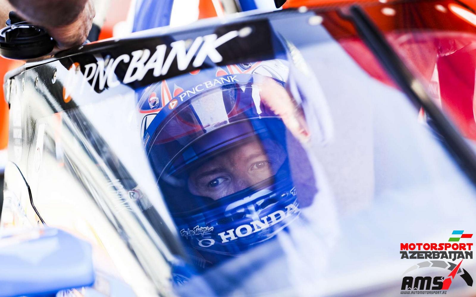 Scott Dixon, Ganassi, IndyCar Aeroscreen test