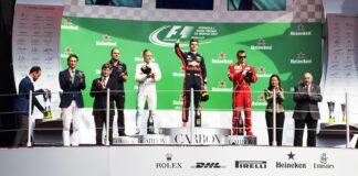 Podium, Autodromo Hermanos Rodriguez