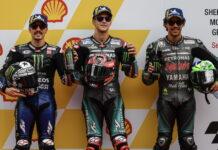 Maverick Vinales, Fabio Quartararo, Franco Morbidelli