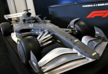 2021 F1 car