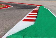 kerb detail, United States Grand Prix