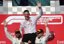 Lewis Hamilton, James Allison, Valtteri Bottas