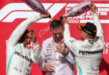Lewis Hamilton, James Allison, Valtteri Bottas