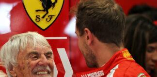 Bernie Ecclestone, Sebastian Vettel
