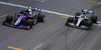 Pierre Gasly, Lewis Hamilton