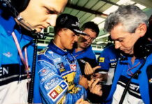 Michael Schumacher, Ross Brawn, Pat Symonds