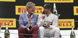 Eddie Jordan, Lewis Hamilton