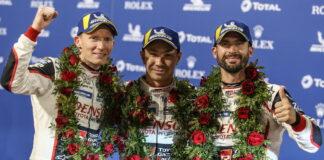 Mike Conway, Kamui Kobayashi, Jose Maria Lopez