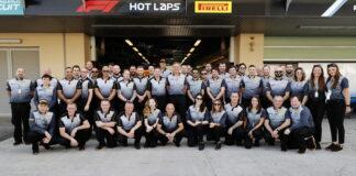 The Pirelli team