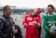 Martin Brundle, Sebastian Vettel, Bruno Senna