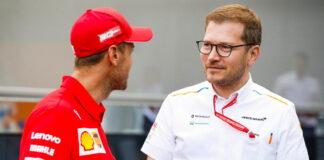 Sebastian Vettel, Andreas Seidl