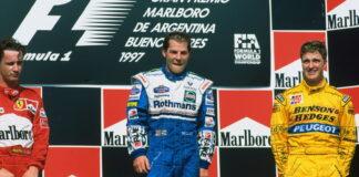 1997 Argentine Grand Prix Podium