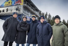 Alex Albon, Pol Espargaro, Daniil Kvyat, Max Verstappen, Pierre Gasly