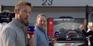 Jenson Button, Martin Brundle, Sky Sports