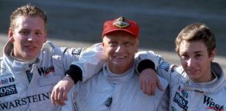 Lukas Lauda, Niki Lauda, Mathias Lauda