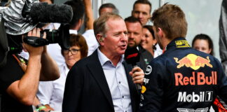 Martin Brundle, Max Verstappen