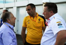 Jean Todt, Cyril Abiteboul, Zak Brown