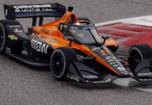 Pato O'Ward, Arrow McLaren SP Chevrolet, Aeroscreen
