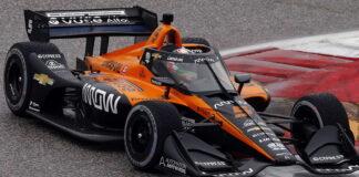 Pato O'Ward, Arrow McLaren SP Chevrolet, Aeroscreen
