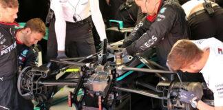 Mercedes steering rack