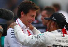 Lewis Hamilton; Toto Wolff
