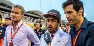 David Coulthard, Fernando Alonso, Mark Webber