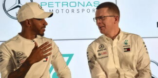 Lewis Hamilton, Andy Cowell