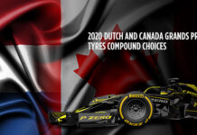 Dutch Grand Prix, Canadian Grand Prix, Tyre compound choices