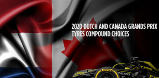 Dutch Grand Prix, Canadian Grand Prix, Tyre compound choices