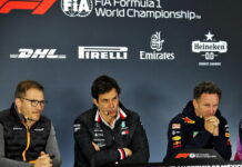 Andreas Seidl, Toto Wolff, Christian Horner