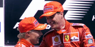 Mika Salo, Eddie Irvine