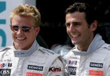 Kimi Raikkonen, Pedro de la Rosa