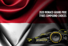 Monaco Grand Prix, Tyre compound choices