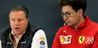 Zak Brown, Mattia Binotto